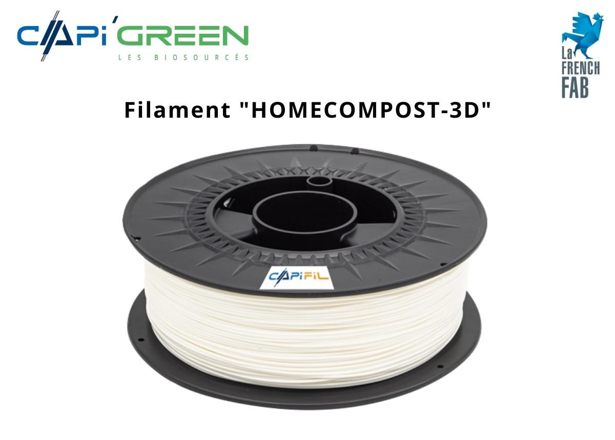 CAPIFIL - Fil imprimante 3D Home Compost - Naturel