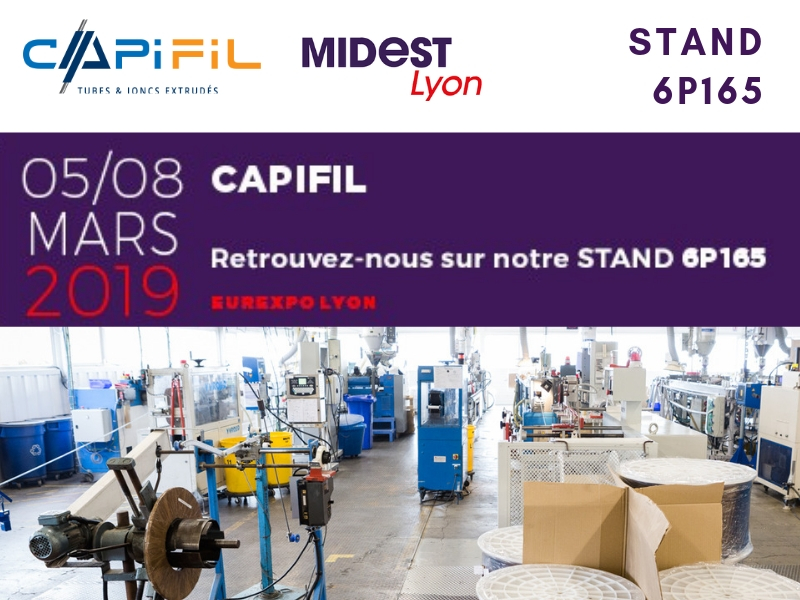 Capifil salon MIDEST Lyon