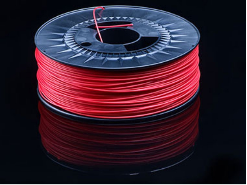 Bobine filament 3D POM rouge fabrication Capifil