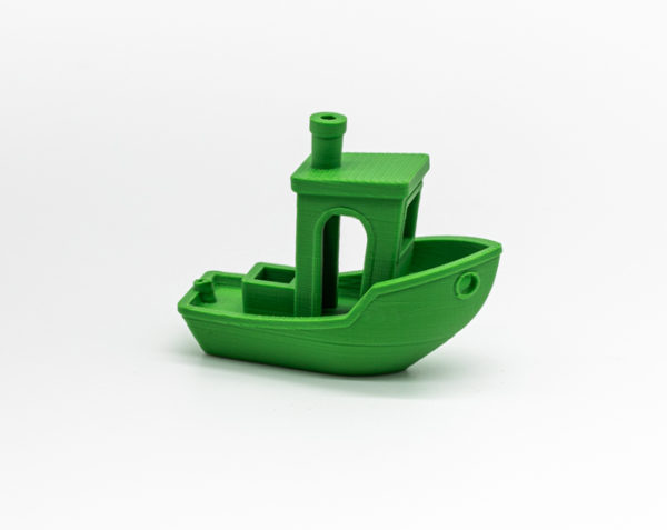 Filament 3D- PLA - Vert- Benchy