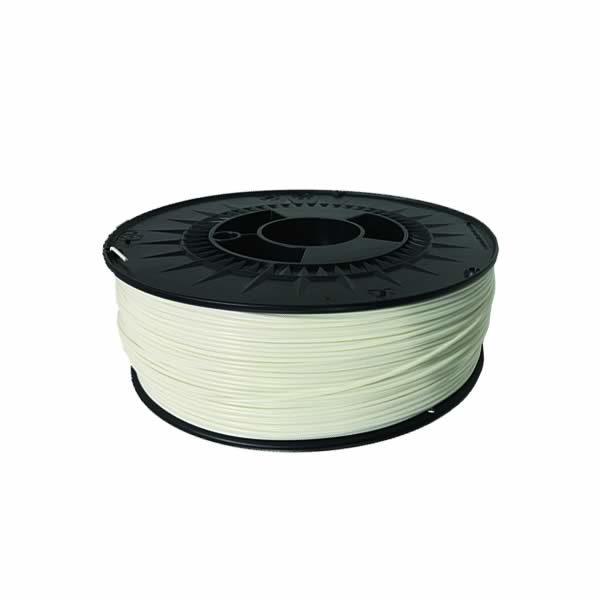 Bobine Filament 3D PC 1 kg coloris blanc - Fabrication Capifil
