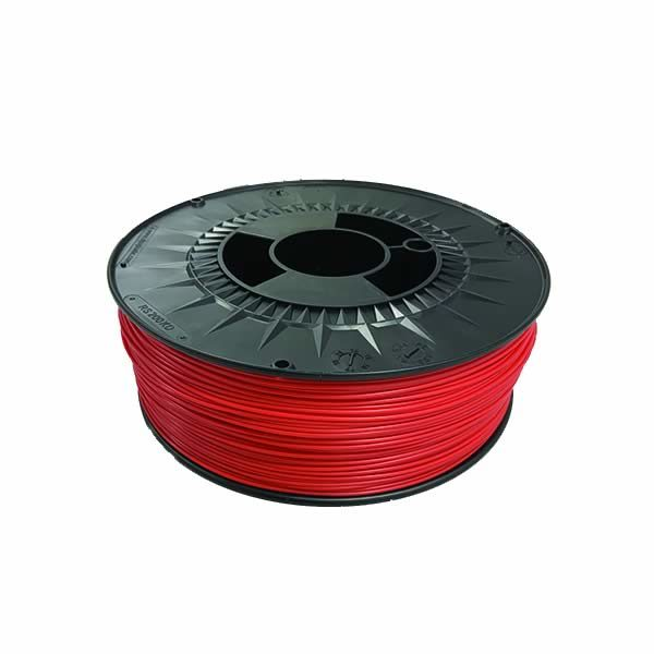 Bobine Filament 3D PLA 1 kg coloris rouge - Fabrication Capifil