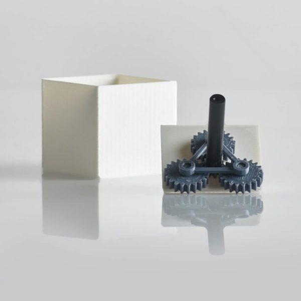 Objet roue-imprimante-3D-ABS-noir-CAPIFIL