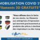 CAPIFIL - Covid 19 - Filament 3D gratuits
