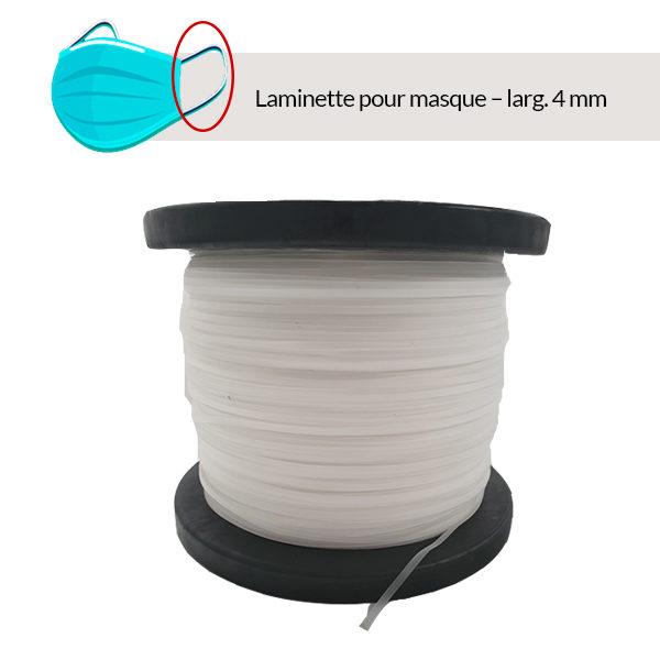 CAPIFIL_e-boutique_Laminette pour masque ISO 10993– largeur 4 mm