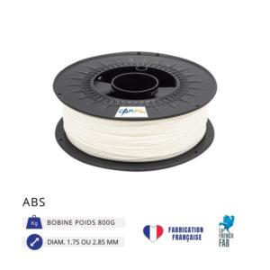 CAPIFIL - Fil imprimante 3D ABS 800G - Blanc