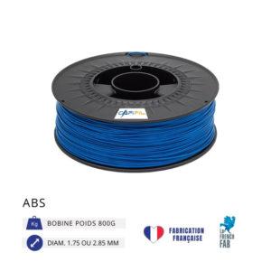 CAPIFIL - Fil imprimante 3D ABS 800G - Bleu