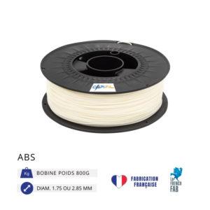 CAPIFIL - Fil imprimante 3D ABS 800G - Naturel