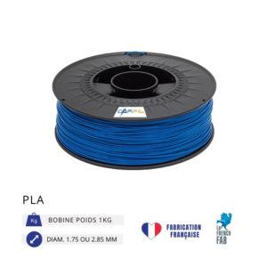 CAPIFIL - Fil imprimante 3D PLA 1KG - Bleu