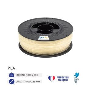 CAPIFIL - Fil imprimante 3D PLA 1KG - Naturel