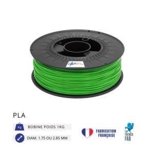 CAPIFIL - Fil imprimante 3D PLA 1KG - Vert