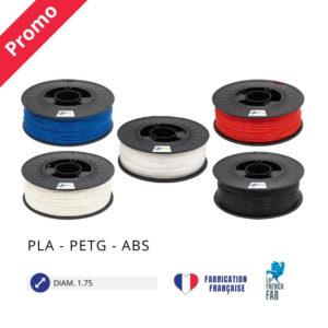 CAPIFIL - Fil imprimante 3D PLA PETG ABS - promo multi matieres