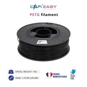 1 kg PETG 3D filament in black-CAPIFIL
