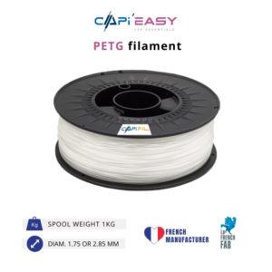 1 kg PETG 3D filament in natural colour-CAPIFIL