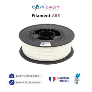 CAPIFIL-Filament 3D ABS 800g coloris blanc