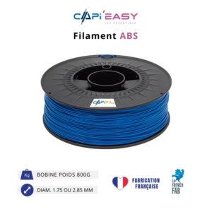CAPIFIL-Filament 3D ABS 800g coloris bleu