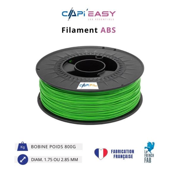 CAPIFIL-Filament 3D ABS 800g coloris vert