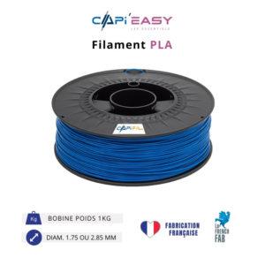 CAPIFIL-Filament 3D PLA 1kg coloris bleu
