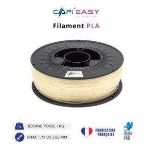 CAPIFIL-Filament 3D PLA 1kg coloris naturel