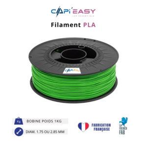 CAPIFIL-Filament 3D PLA 1kg coloris vert