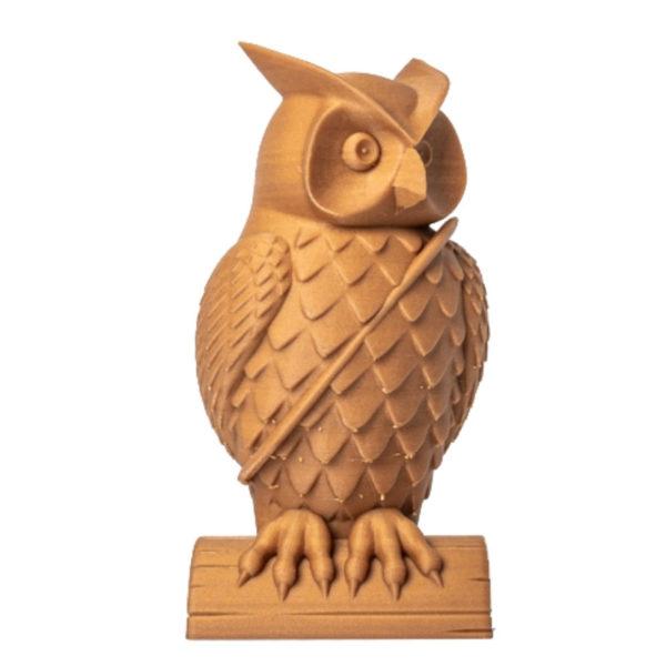 CAPIFIL - Filament 3D PLA Bois 750g coloris bois clair - réalisation 1