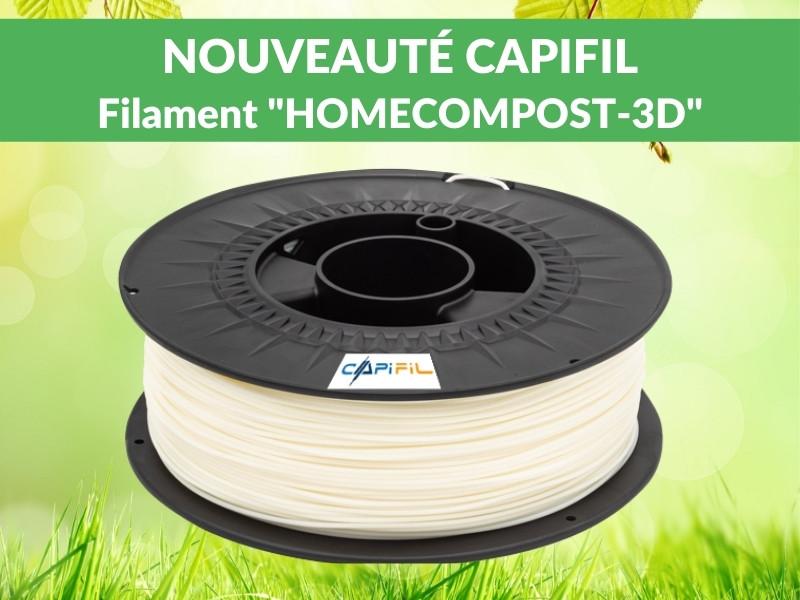 CAPIFIL - NOUVEAUTE Filament HOMECOMPOST-3D