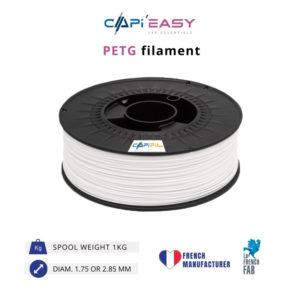 1 kg PETG 3D filament in white-CAPIFIL