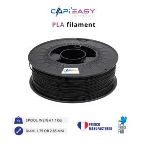 1 kg PLA 3D filament in black-CAPIFIL
