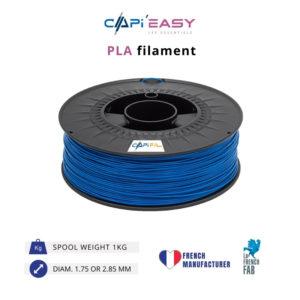 1 kg PLA 3D filament in blue-CAPIFIL