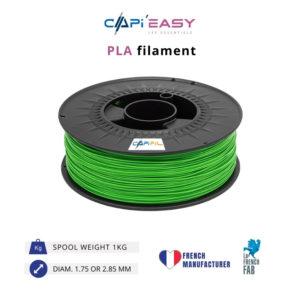 1 kg PLA 3D filament in green-CAPIFIL