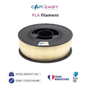 1 kg PLA 3D filament in natural colour-CAPIFIL