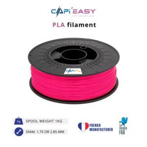 1 kg PLA 3D filament in pink-CAPIFIL