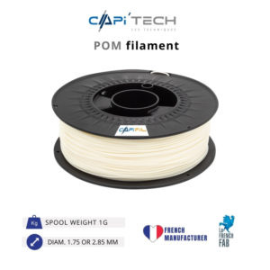 1kg POM 3D printing filament in natural colour-CAPIFIL