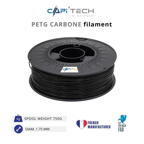 750 g CARBONE PETG 3D printing filament-CAPIFIL