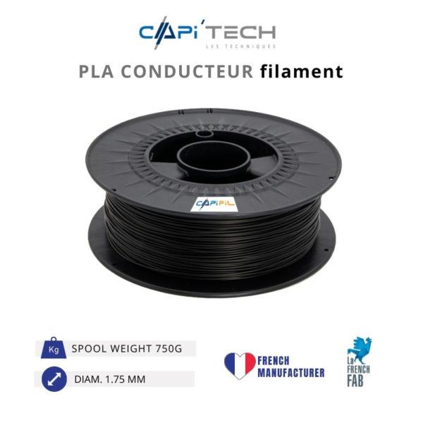 750 g PLA CONDUCTOR 3D printing filament-CAPIFIL