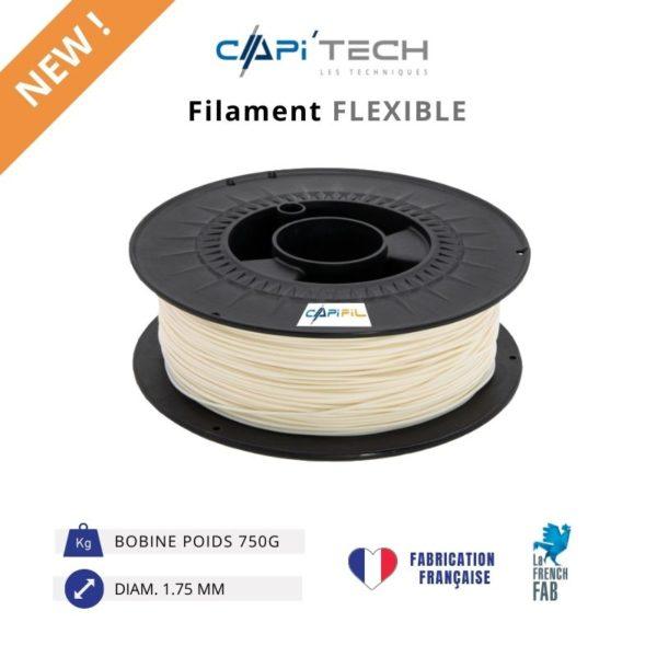 CAPIFIL-Filament 3D FLEXIBLE 750g-new