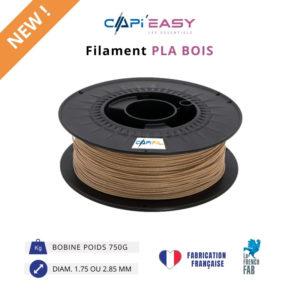 CAPIFIL - Filament 3D PLA Bois 750g coloris bois clair-NEW