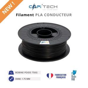CAPIFIL-Filament 3D PLA CONDUCTEUR 750g-new