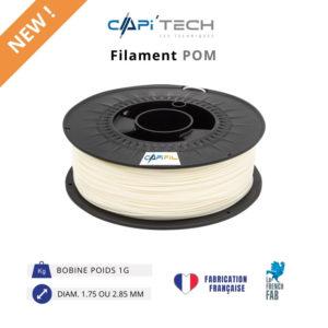 CAPIFIL-Filament 3D POM 1kg coloris naturel-NEW