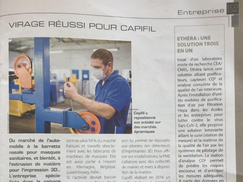 CAPIFIL - revue de presse - ESSOR Isère_02.07.2021